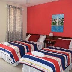 Отель Mansion Giahn Bed & Breakfast Мексика, Канкун - отзывы, цены и фото номеров - забронировать отель Mansion Giahn Bed & Breakfast онлайн комната для гостей фото 18