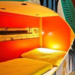 Chillout Hostel Zagreb Кровать в общем номере с двухъярусной кроватью фото 44