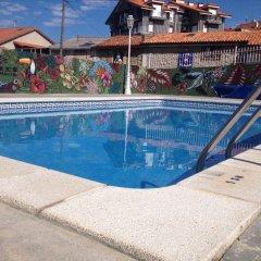 Hotel Los Nogales бассейн