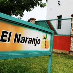 Отель Cabañas El Naranjo Сан-Рафаэль парковка