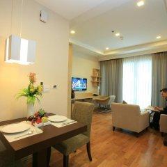 Отель 39 Boulevard Executive Residence 4* Улучшенные апартаменты с различными типами кроватей фото 5