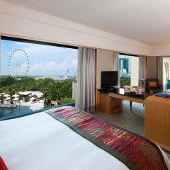 Отель Mandarin Oriental, Singapore 5* Номер Club city с различными типами кроватей фото 2