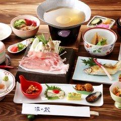 Hotel Shirakawa Yunokura Никко питание