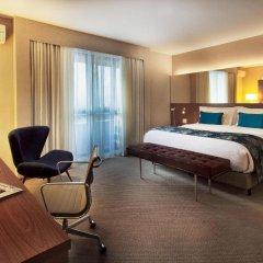 Отель Radisson Blu São Paulo 3* Улучшенный номер с различными типами кроватей фото 2
