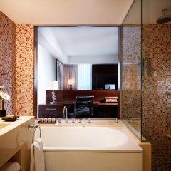 Отель Jumeirah Frankfurt 5* Номер Делюкс с различными типами кроватей фото 9