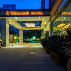 Guangzhou Wellgold Hotel парковка