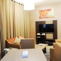 Отель Spark Residence Deluxe Hotel Apartments ОАЭ, Шарджа - отзывы, цены и фото номеров - забронировать отель Spark Residence Deluxe Hotel Apartments онлайн удобства в номере фото 2
