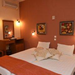 Отель Pelli Hotel Греция, Пефкохори - отзывы, цены и фото номеров - забронировать отель Pelli Hotel онлайн комната для гостей фото 3
