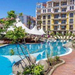 Апартаменты Bulgarienhus Harmony Suites Apartments Солнечный берег бассейн
