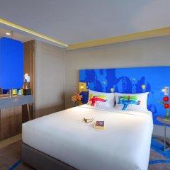 Отель ibis Styles Bangkok Khaosan Viengtai 3* Стандартный семейный номер с двуспальной кроватью фото 4