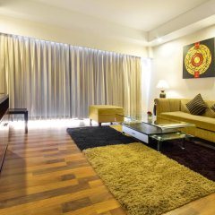 Отель D Varee Jomtien Beach 4* Представительский люкс с различными типами кроватей фото 4