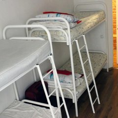Хостел Online Кровать в общем номере с двухъярусной кроватью фото 14
