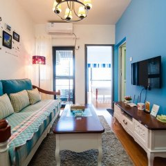 Апартаменты Shenzhen Grace Apartment Улучшенные апартаменты с различными типами кроватей фото 9