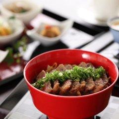 Отель Ryokan Miyama Sansou Минамиогуни питание фото 2