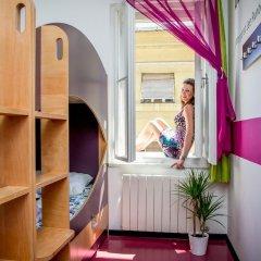 Chillout Hostel Zagreb Кровать в общем номере с двухъярусной кроватью фото 4