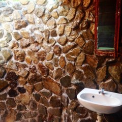 Отель Naveria Heights Lodge Савусаву ванная