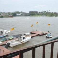 Отель Luthmin River View Hotel Шри-Ланка, Бентота - отзывы, цены и фото номеров - забронировать отель Luthmin River View Hotel онлайн балкон