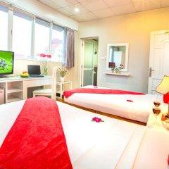 Hanoi Amanda Hotel 3* Улучшенный номер с различными типами кроватей фото 4
