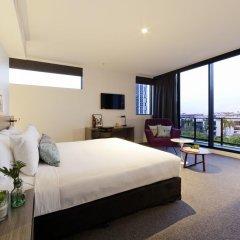 Alpha Mosaic Hotel Fortitude Valley 4* Представительский люкс с различными типами кроватей фото 4