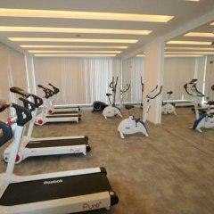 Отель Crown City фитнесс-зал