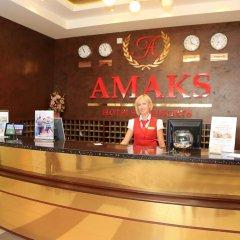 Гостиница Амакс Отель Омск в Омске 1 отзыв об отеле, цены и фото номеров - забронировать гостиницу Амакс Отель Омск онлайн интерьер отеля фото 2
