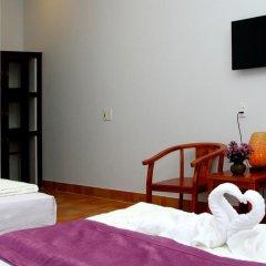 Отель Purple Garden Homestay 2* Улучшенный номер с различными типами кроватей фото 4