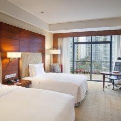 Отель Crowne Plaza Chongqing Riverside 4* Номер Делюкс с 2 отдельными кроватями фото 2