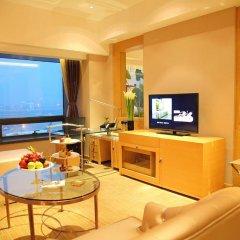 Shanghai Hongqiao Airport Hotel 4* Представительский люкс с различными типами кроватей фото 6