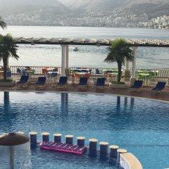 Отель Dodona Албания, Саранда - отзывы, цены и фото номеров - забронировать отель Dodona онлайн бассейн фото 3