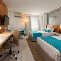 Отель Best Western PREMIER Maceió 4* Улучшенный номер с различными типами кроватей фото 3