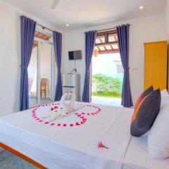 Отель An Bang Sunrise Beach Bungalow 3* Бунгало с различными типами кроватей фото 8