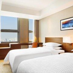Отель Four Points By Sheraton Seoul, Namsan 4* Улучшенный номер с различными типами кроватей фото 2