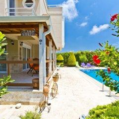 Отель Paradise Town - Art Villa Белек бассейн