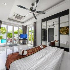 Отель Villas In Pattaya 5* Стандартный номер с различными типами кроватей фото 33