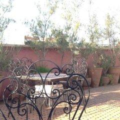 Отель Riad Harmattan Марракеш спортивное сооружение
