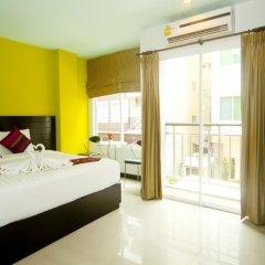 Отель PJ Patong Resortel 3* Стандартный номер с двуспальной кроватью фото 7