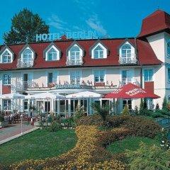Hotel Berlin 3* Стандартный номер с различными типами кроватей фото 4