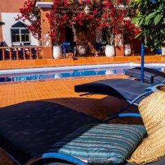 Отель Le Petit Riad Марокко, Уарзазат - отзывы, цены и фото номеров - забронировать отель Le Petit Riad онлайн бассейн фото 3