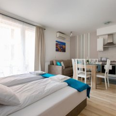 Апартаменты Sun Resort Apartments Студия Делюкс с различными типами кроватей фото 18