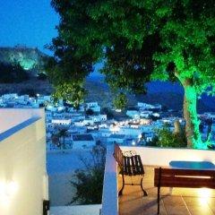 Отель Little Lindos Sea View Studios бассейн фото 3