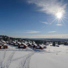 Отель Lillehammer Fjellstue 3* Коттедж с различными типами кроватей фото 17