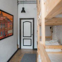АРТ хостел Культура Кровать в общем номере с двухъярусными кроватями фото 3