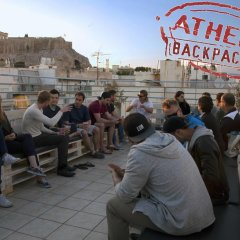 Отель Athens Backpackers питание фото 3
