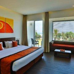 Отель Citrus Waskaduwa 4* Улучшенный номер с различными типами кроватей фото 6