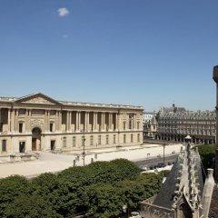 Отель Hôtel de la Place du Louvre 3* Стандартный номер с различными типами кроватей фото 10
