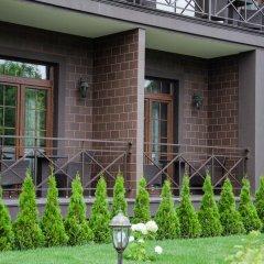 Гостиница Petrani Nivki вид на фасад
