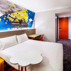 ibis Styles Manchester Portland Hotel (Newly refurbished) 3* Стандартный номер с двуспальной кроватью фото 3