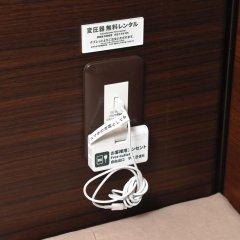 Отель Anshin Oyado Premier Shinbashi Shiodome 2* Капсула в мужском общем номере фото 7