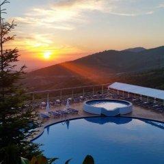 Отель Dajti Park бассейн