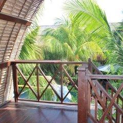 Отель Balangan Sea View Bungalow 3* Бунгало с различными типами кроватей